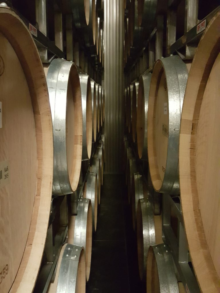 Barrel Room in Silver Oak