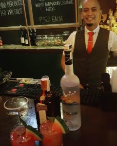 Cedric Callo, winner of La Maison Cointreau's Bartenders Battle Royale, and competing today in the Regional Finals
