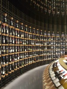 Visitors can also shop for wines in the museum. The selection includes famous labels and wines from obscure regions... There was even wine from Macedonia