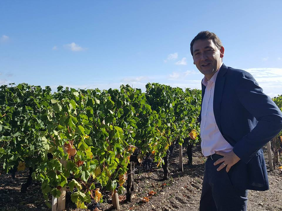 Frédéric Faye, Managing Director and Winemaker, Château-Figeac