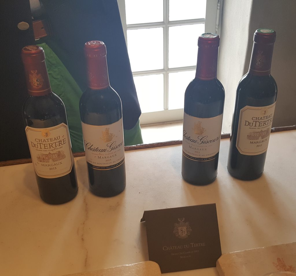 The estates' 2011 and 2015 vintages