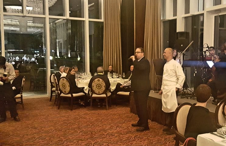 Mr. Daniel Blais and Chef Alan Marchetti of Finestra, Solaire