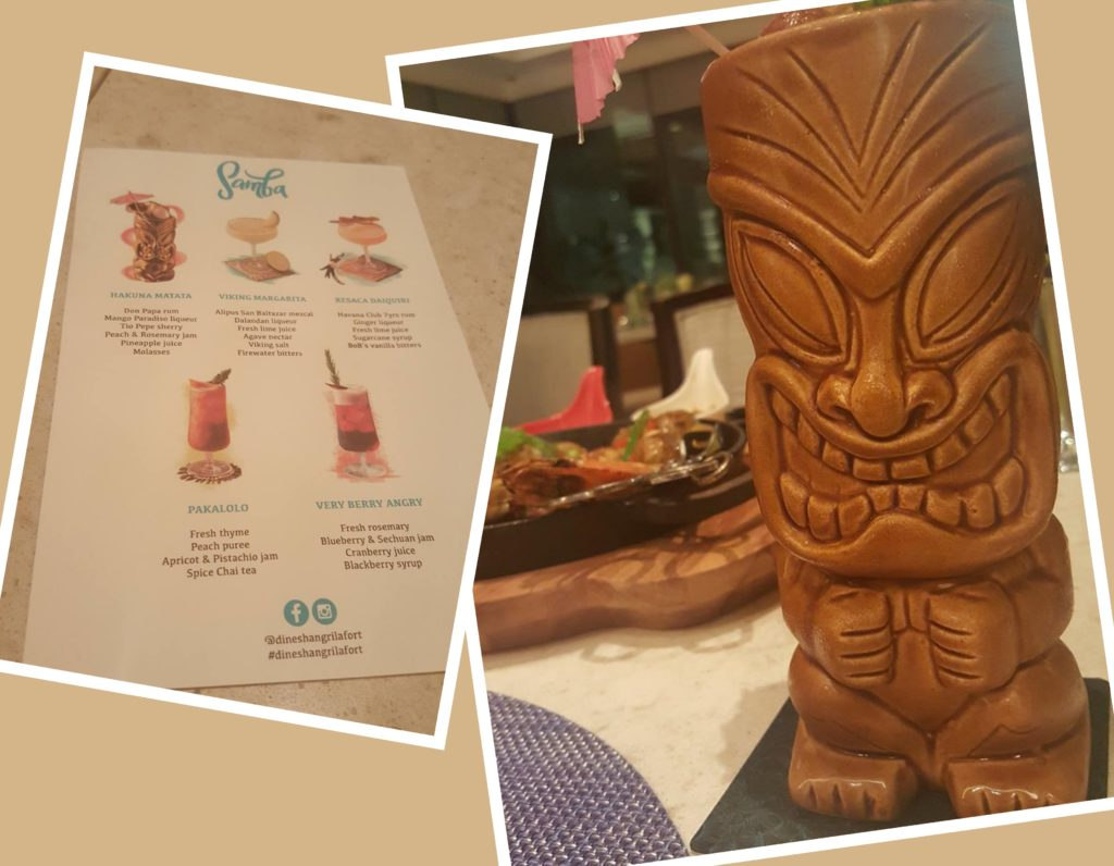 Delicious (and pretty cool looking) Hakuna Matata, part of Samba's upcoming menu (Shangri-La Fort)