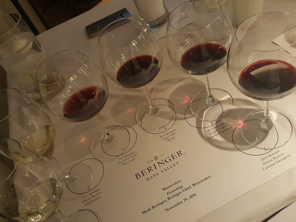 Fill 'er up! Beringer Master Class with Mark Beringer