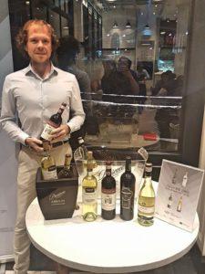 Zonin Brand Ambassador, Fraser Jones