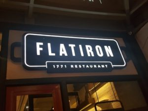 Flat Iron in Uptown BGC
