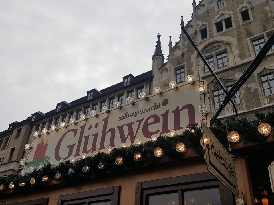 Glühwein from the Christmas Market in Munich