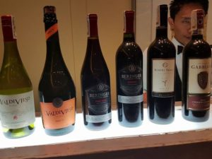 Featured wines for La Fromagerie's cheese and wine event