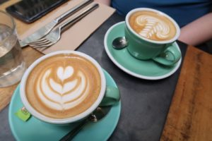 ...where we've had some of the best Flat White on earth