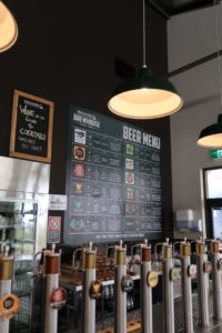 Tap that! Huge selecton of craft beer from Brewhouse in Hunter Valley
