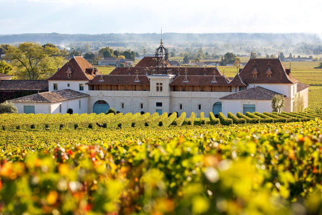 The gorgeous estate of Château Angélus
